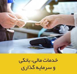 خدمات مالی، بانکی و سرمایه گذاری